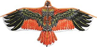 GulfDealz Eagle Bird Kite, for Children and Adults Easy to Ride and Fly Kite Beach Outdoor Toys Games and Activities, Rips...