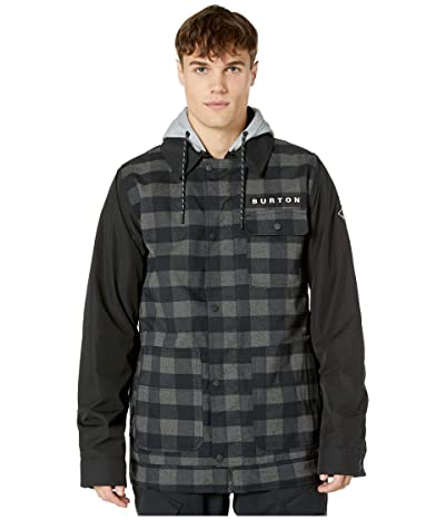 Burton Dunmore Jacket (True Black Heather Buffalo Plaid) Men