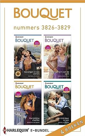 Bouquet e-bundel nummers 3826 - 3829 (4-in-1)