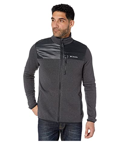 Columbia Canyon Pointtm Sweater Fleece Full Zip (Black) Men