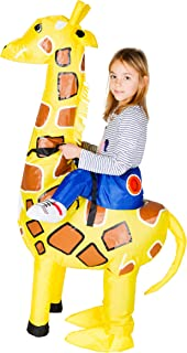 Bodysocks Inflatable Giraffe Fancy Dress Costume