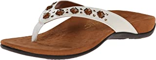 Women's Rest Floriana Toepost Sandal - Ladies Flip Flops with Concealed Orthotic Support