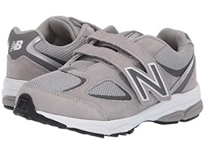 New Balance Kids PO888v2 (Little Kid) (Grey/Grey) Boys Shoes