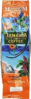 Jamaican Blue Mountain Coffee Blend, Ground - Medium Roast, Fresh Strong Arabica Coffee - Rich And Smooth Flavor - Magnum Exotics, 1 Lb Bag