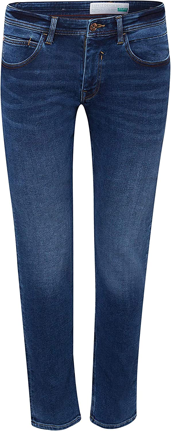 Esprit Jean Slim Homme Bleu (Blue Medium Wash 902)
