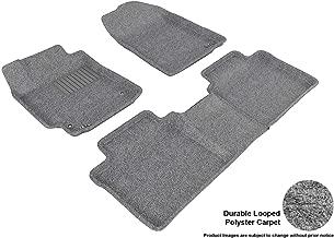 3D MAXpider Complete Set Custom Fit Floor Mat for Select Toyota Camry Models - Classic Carpet (Gray)