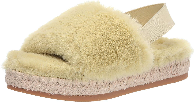 Dolce Vita Women's New item Max 51% OFF Keya Slipper 9 Fur Faux Lime