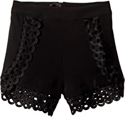 Circular Trim Shorts (Big Kids)