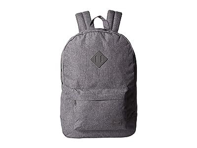 Herschel Supply Co. Heritage Light (Raven Crosshatch) Backpack Bags