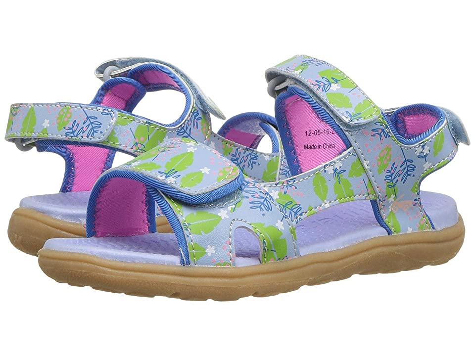 See Kai Run Kids Makena (Toddler/Little Kid) (Blue Floral) Girl