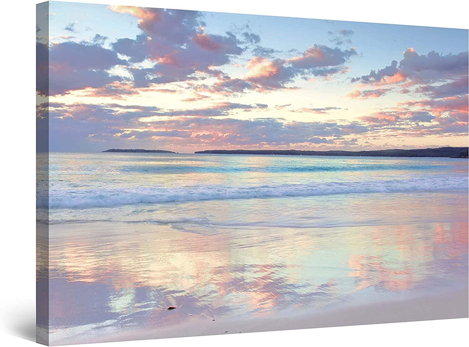 Startonight Wall Art Canvas Daydream Frame Serenity All stores are sold Water security Beach