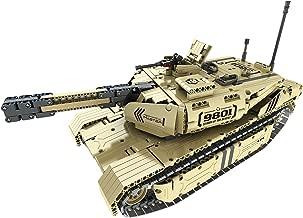 Bo Toys R/C Shooting Tank Building Bricks Radio Control Toy, 1276 Pcs Military Battle