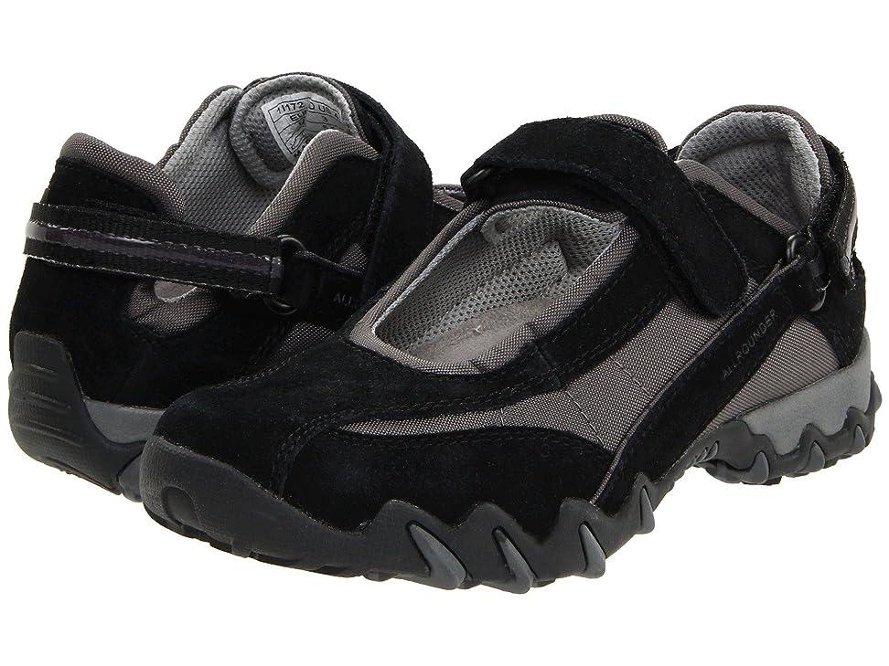 期待して印刷する内訳レディースウォーキングシューズ?カジュアルスニーカー?靴 Niro Black Suede/Mesh 37 (US Women's 7) (24cm) M (B) [並行輸入品]