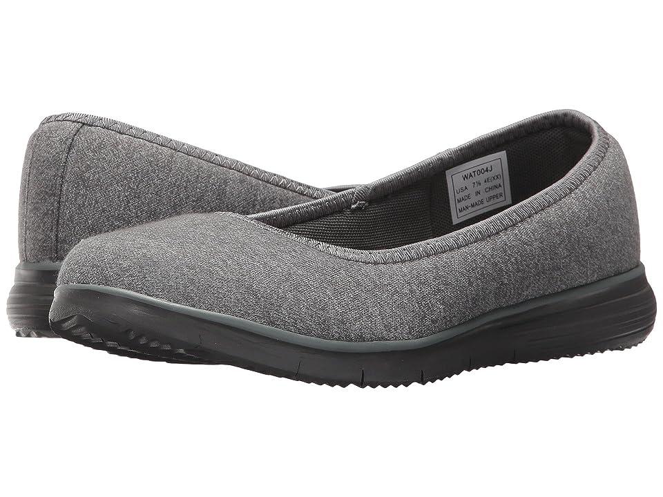 Propet TravelFit Flat (Grey) Women