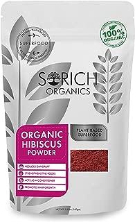 Sorich Organics 100% Natural Hibiscus Powder For Hair Growth -200 Gm