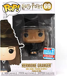 Funko Pop! Harry Potter: Hermione Granger with Sorting Hat #69, 2018 Fall Convention Shared Exclusive