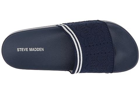 Steve Madden Vibe Slide Sandal Black