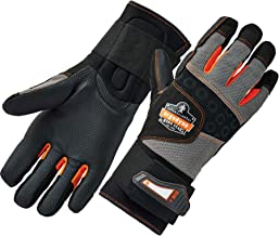 anti-vibration gloves with wrist support