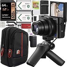 Sony Cyber-Shot RX100 VII RX100M7 4K Digital Camera DSC-RX100M7G Vlogging Shooting Grip Bundle VCT-SGR1 Grip Tripod + Trip...