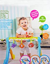 NBD Corp Ocean Baby Gym 3in1 Activity Gym for Your Baby, Motion Touch Light Up Action, Drawing Board, Plays Music and Sounds