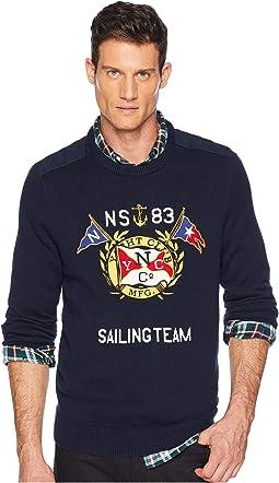 9GG Graphic Crew Sweater