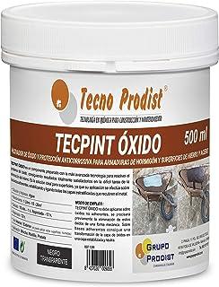 comprar comparacion TECPINT OXIDO de Tecno Prodist - 500 ml - Pasivador de óxido al agua - protección anticorrosiva para armaduras – convertid...