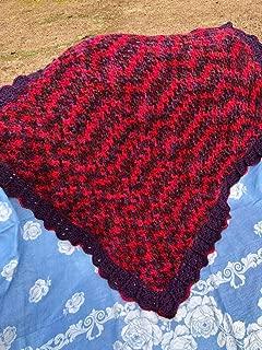 Handmade Afghan Baby Blanket Throw Lapghan
