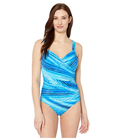 Miraclesuit Atlantis Seraphina One-Piece (Blue) Women