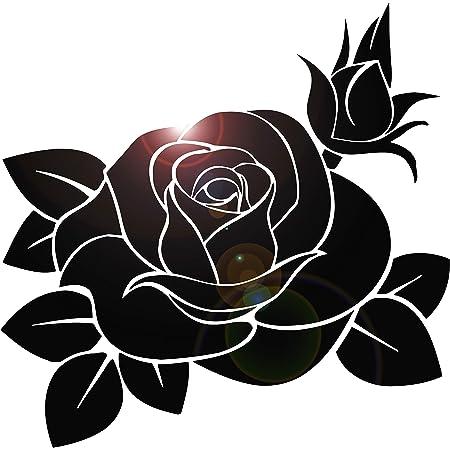 Rose Decal