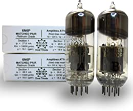 Riverstone Audio - Matched Pair (2 Tubes) 6N6P (6Н6П) Vintage NOS Russian Vacuum Tubes - NEVZ (Novosibirsk, Russia) - Amplitrex Tested and Matched, Platinum Grade - NOS 6N6P (2 Tubes)