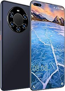 "4G Unlocked Cell Phones(8GB RAM + 128GB ROM) 7.3"" FHD+ Drip Screen, 6000mAh High Capacity Battery Smartphone, 24MP+50MP AI..."