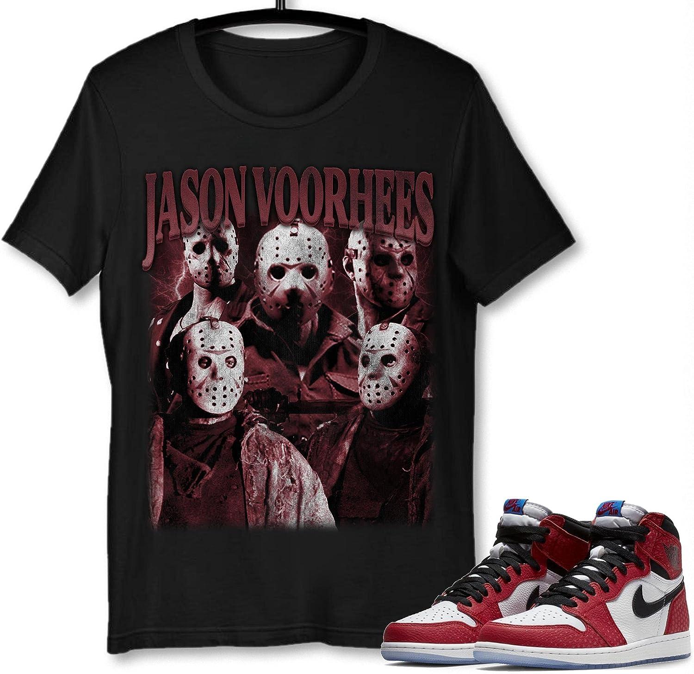#Jason #Voorhees Shirt security Sale price to Match Gift Jordan Sneaker 1#Spider-Man