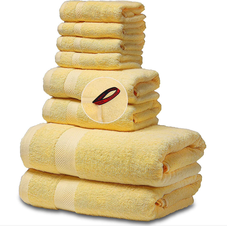 SEMAXE Towel Cotton Bath price Towels for Soft Bathroom Max 46% OFF Set Fa