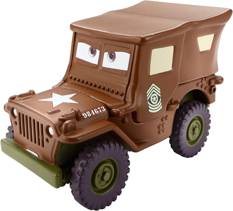 liquidación hasta el 70% Disney Pixar Pixar Pixar Coches, Color Changers, Sarge [marrón to verde] Vehicle by Mattel  edición limitada