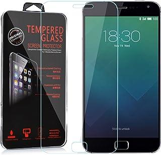Cadorabo DE-103834 pansarfolie för Meizu MX 4 PRO skyddsfolie härdat (tempererad) displayskyddsglas i 9H hårdhet med 3D to...