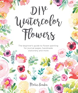 watercolour paintings of spring flowers