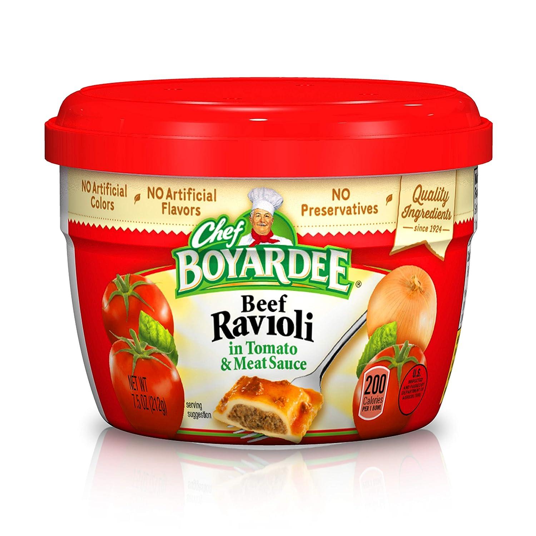 Chef Boyardee Beef in Tomato & Meat Sauce Ravioli, 7.5 oz