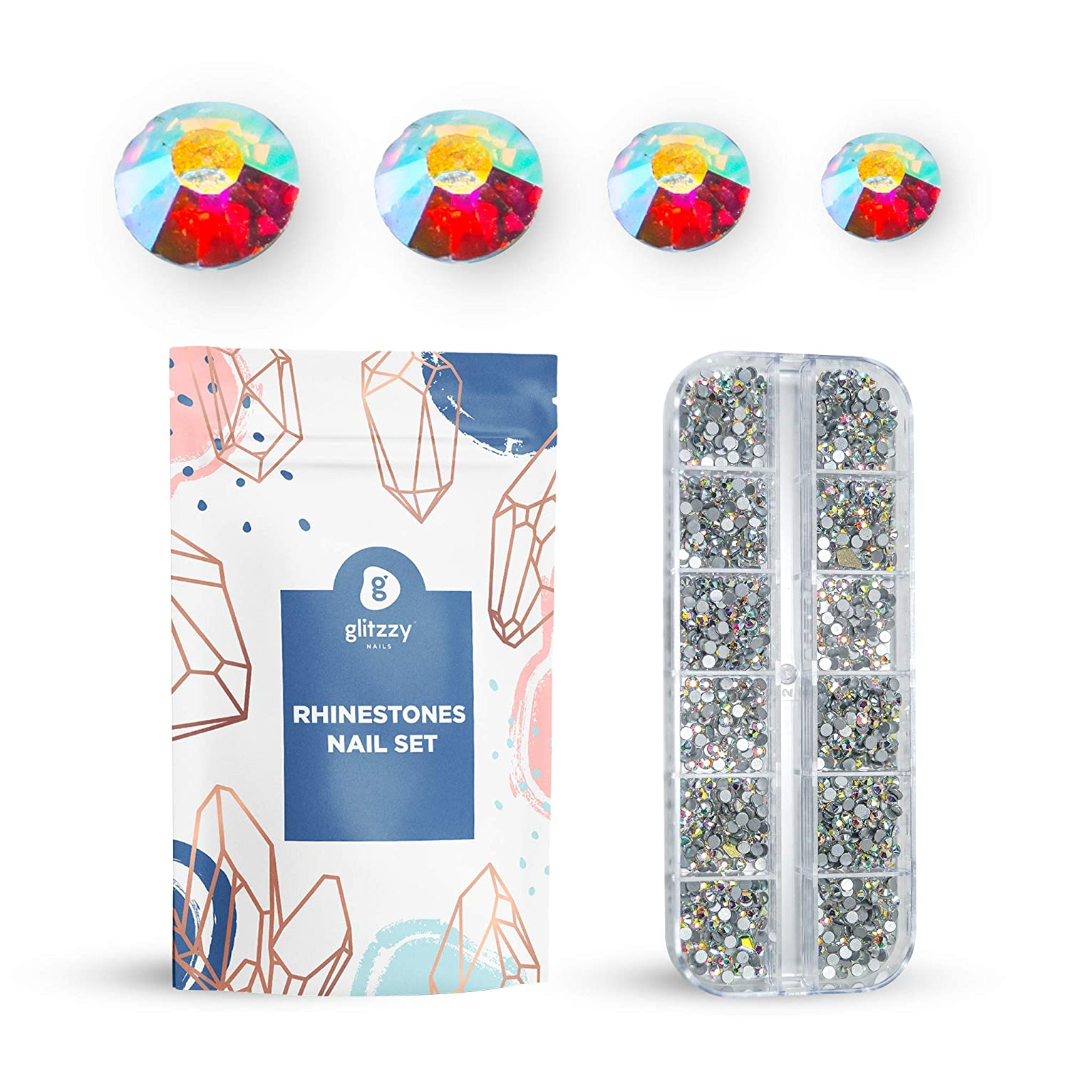 glitzzy 5760 Sales for All items in the store sale AB crystal rhinestones decorations a nail
