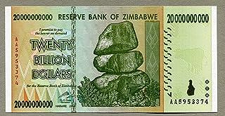 ZIMBABWE $1000 DOLLARS 2003 P 12 UNC