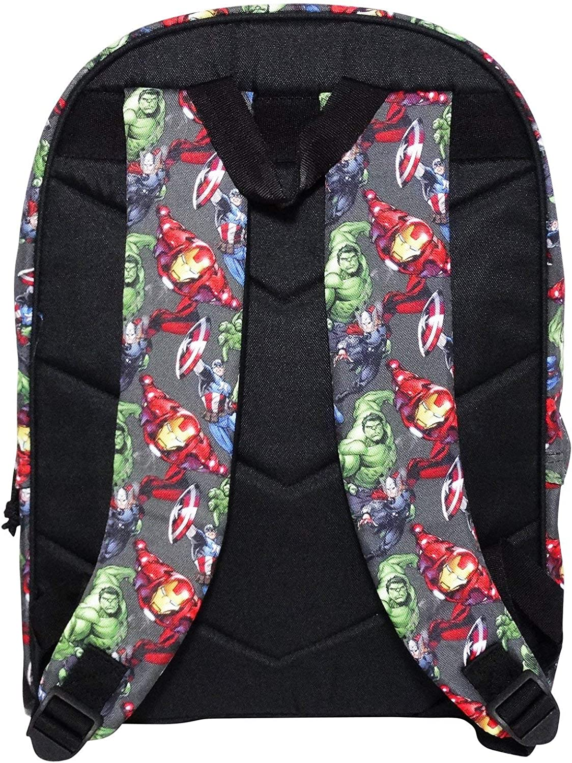 Marvel Iron School Backpack with Handle A Free Frisbee Included