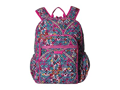 Vera Bradley Iconic Campus Backpack (Kaleidoscope) Backpack Bags