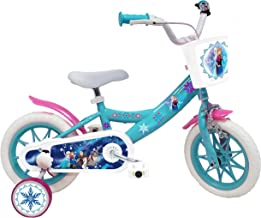 Kinderfiets, 12 inch (30,5 cm), meisjes, gelicentieerd product van de IJskoningin – 1 rem.