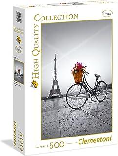 Clementoni Puzzle Collection Romantic Prom Paris 500 Pieces, multi colour, 35014