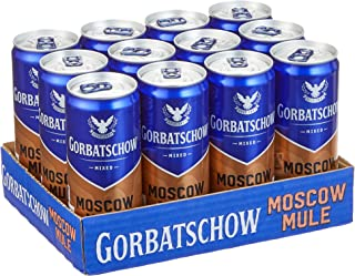 Gorbatschow Wodka Moscow Mule Club Edition 12 x 0.33 l