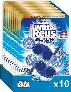 Witte Reus Blauw Actief Hygiene Toiletblok - Voordeelverpakking - 10 x 2 Stuks