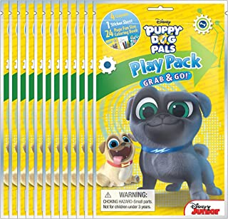 Disney Puppy Dog Pals Grab & Go Play Packs (Pack of 12)