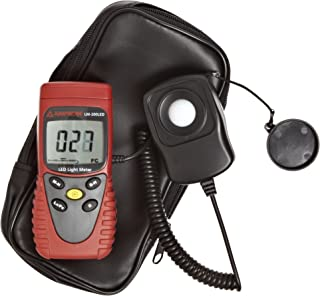 Amprobe LM-200 LED Light Meter, Silicon Photodiode and Filter