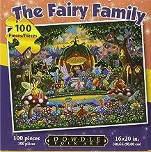 Dowdle Folk Art The Fairy Family Jigsaw Puzzle