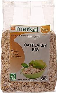 Organic Organic Big Oat Flakes by Markal , 500gm (Brown)