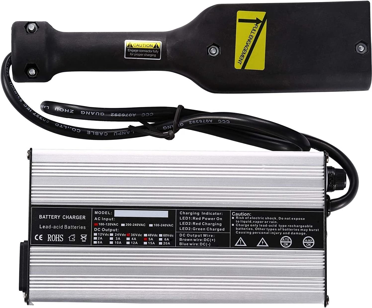 36 Volt 5A New products, world's highest quality popular! Battery Charger for All items in the store TXT Powe EZ-GO Medalist Golf Cart